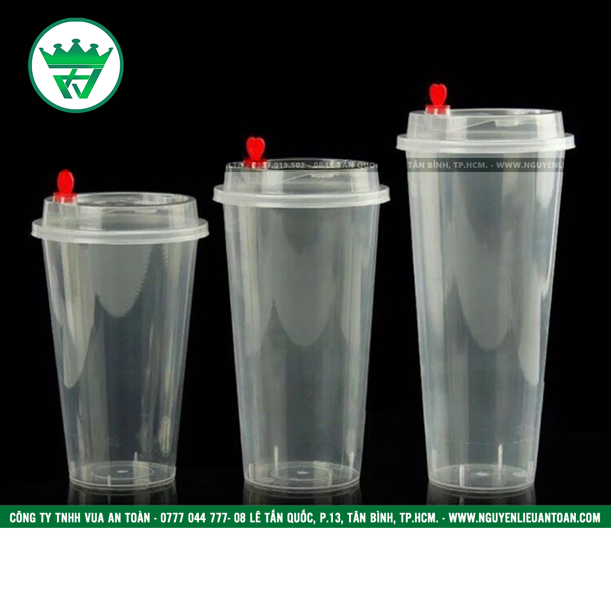 LY PP NẮP TIM 500ml - 700ml