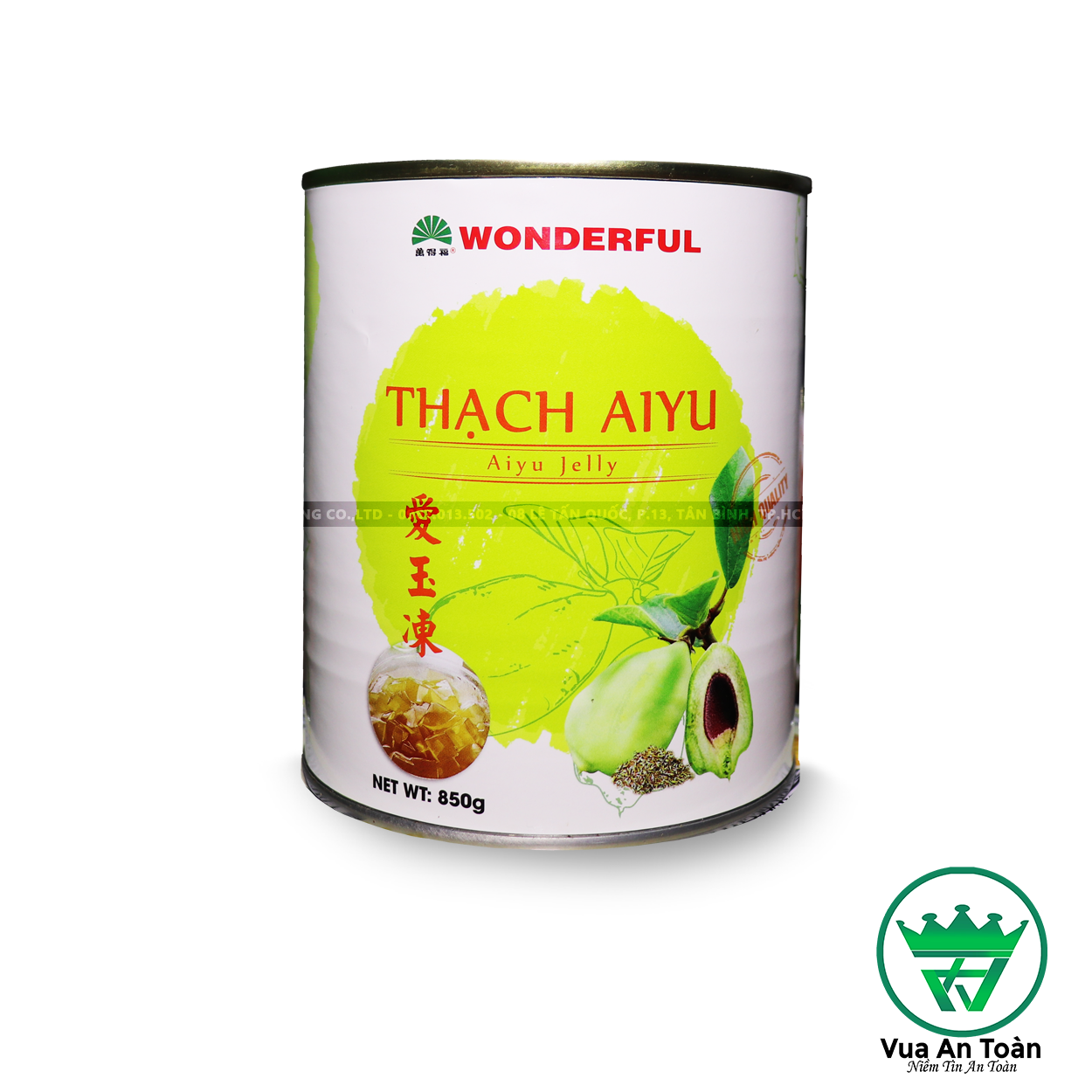 Thạch Aiyu Wonderful 850g