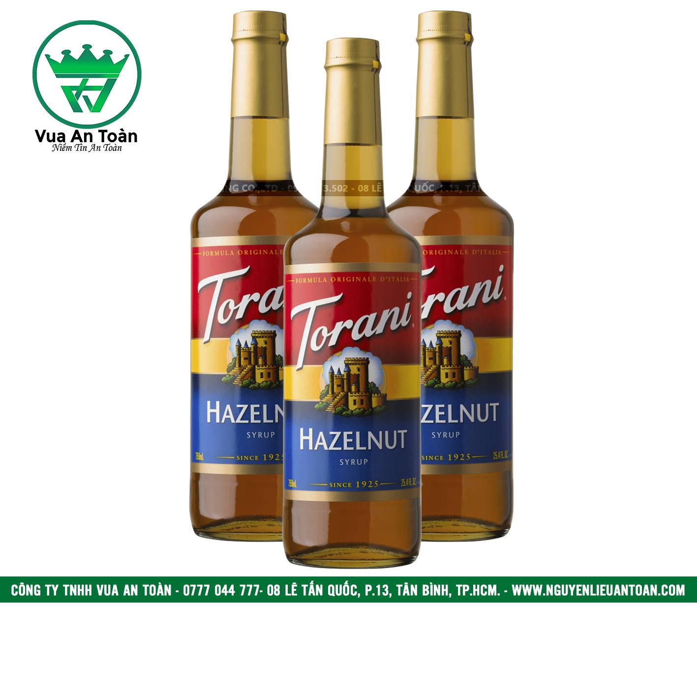 Torani Hạt Dẻ - Hazelnut Syrup