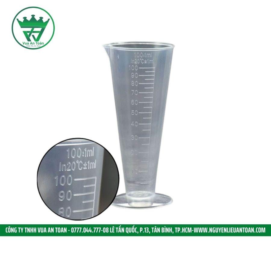 Ly đong nhựa 100ml -250ml